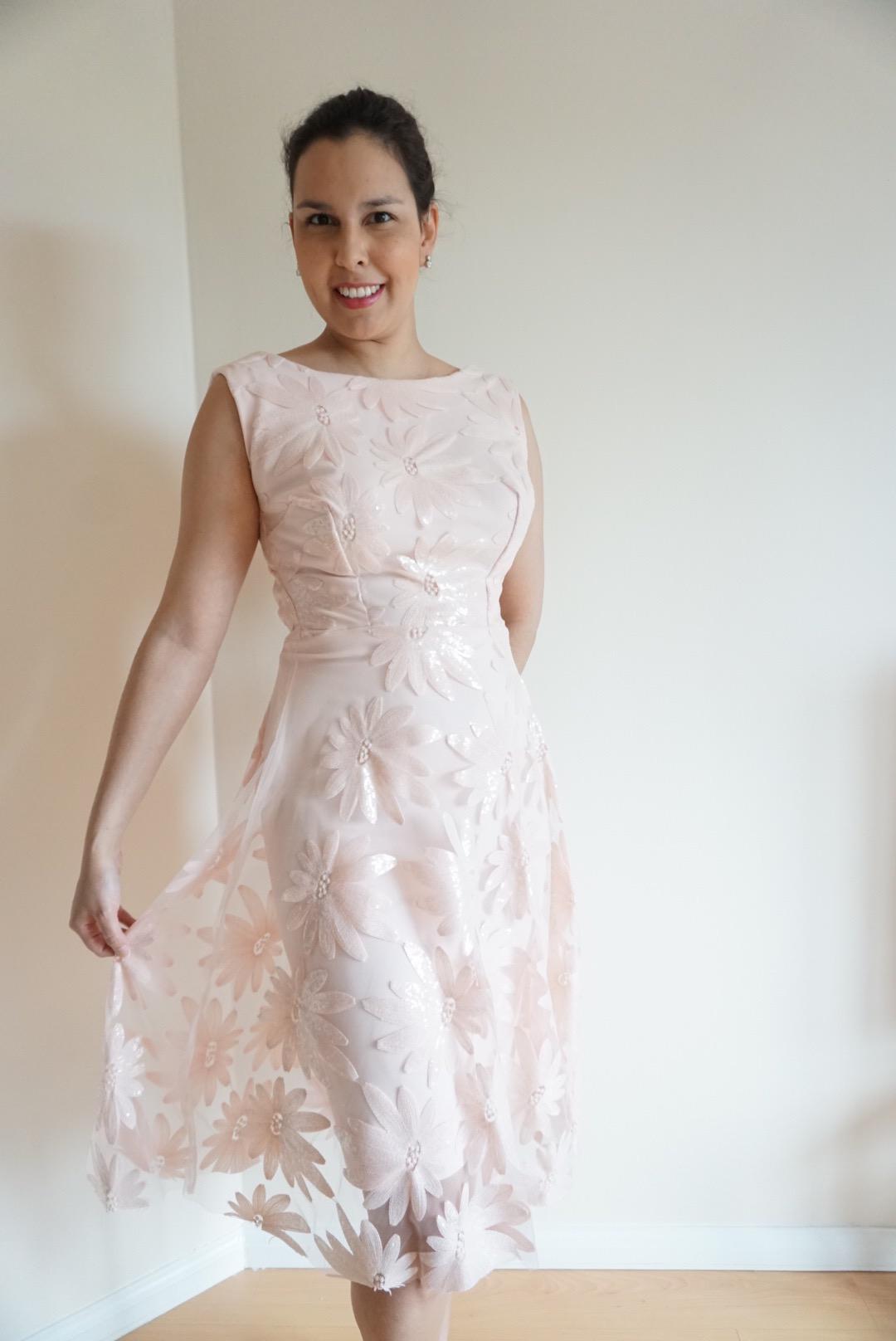 Geschichten eines Ballkleides Simplicity 4744 – The Dressmaker\'s Ball